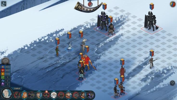 Banner-Saga-Tactical-combat