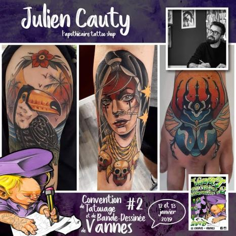 Julien Cauty - L'Apothicaire Tattoo Shop