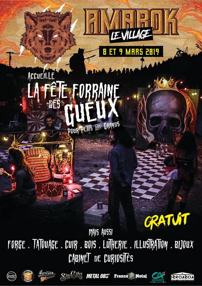 Amarok Metal Fest - fête foraine