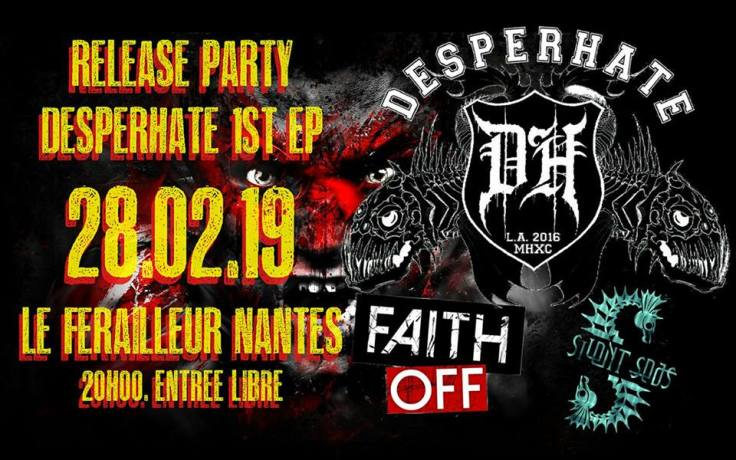 Desperhate & Silent Seas - release party