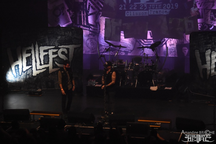 Hellfest W4RM UP 7OUR @ Brest2