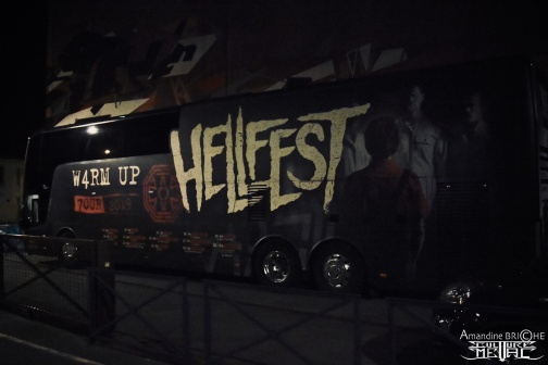 Hellfest W4RM UP 7OUR @ Brest25