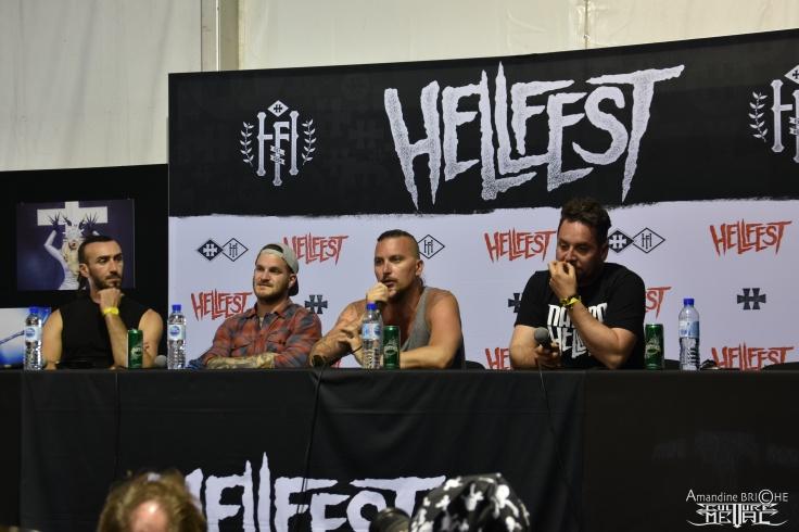 Dagoba @ Hellfest 2019 - conf' 5