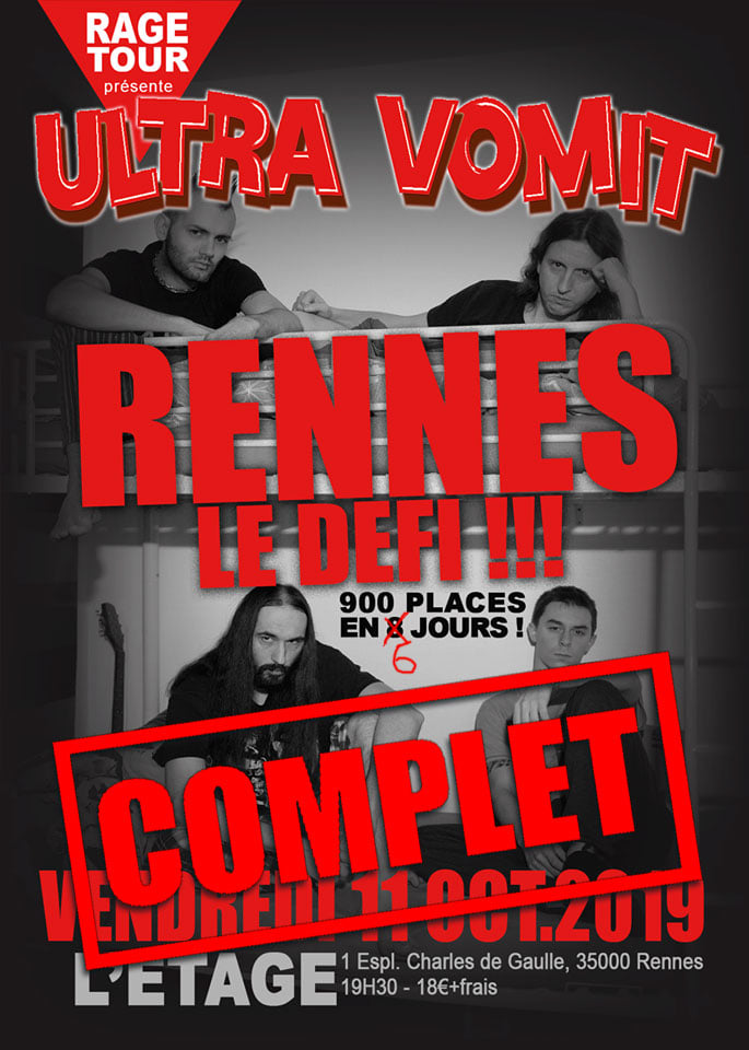 Ultra Vomit Rennes le défi SOLD OUT.jpg