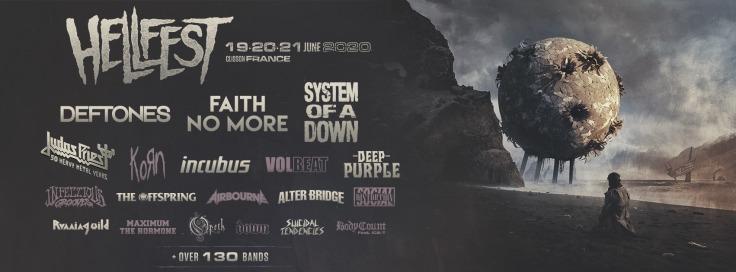 Hellfest 2020 - line-up (bandeau)