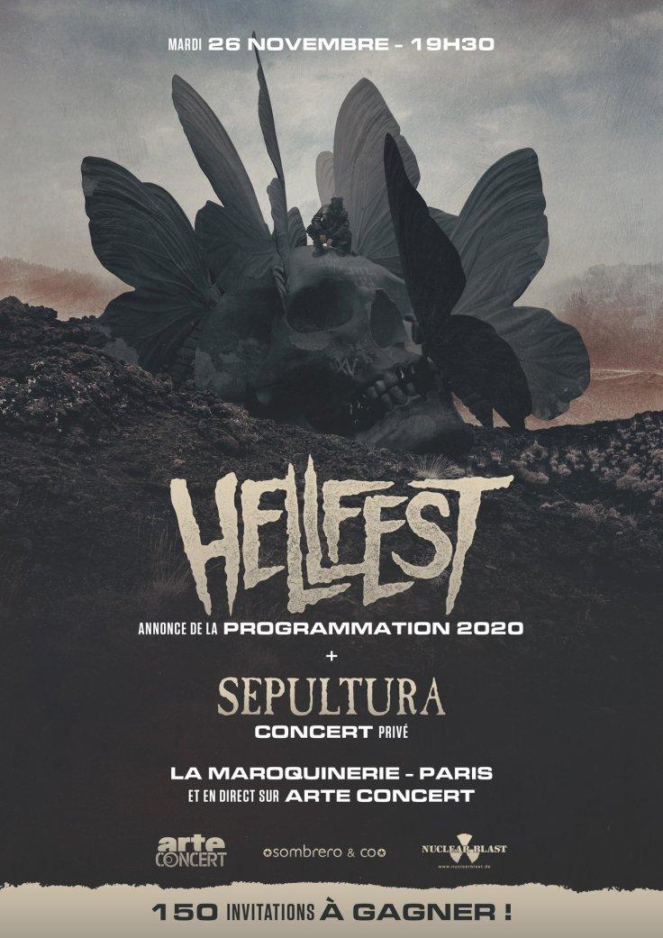 Hellfest 2020 - Sepultura @ Maroquinerie