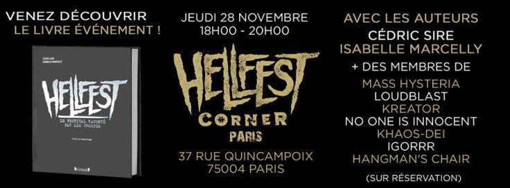 Hellfest Corner -dédicace