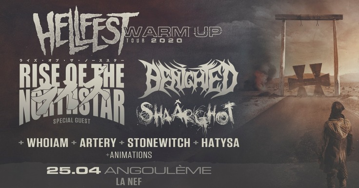 Hellfest Warm Up Tour 2020 @ Angoulême