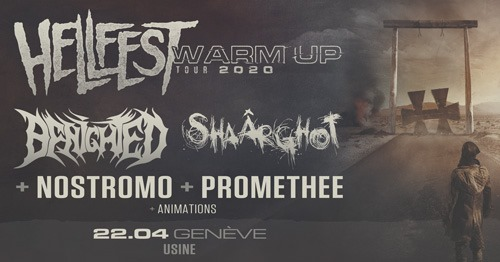 Hellfest Warm Up Tour @ Genève