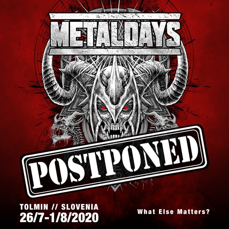 MetalDays 20250 postponed