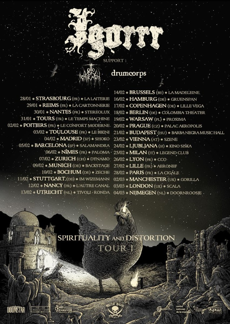 Spirituality and Distorsion Tour I