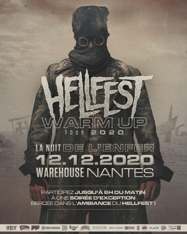 Hellfest La Nuit de l'Enfer 12.12.20 (affiche)