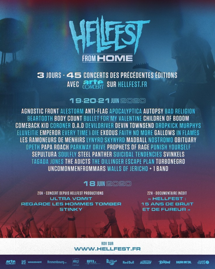 Hellfest From Home - line-up