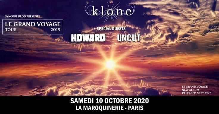 Klone-Howard-Uncut @ Maroquinerie